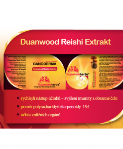 Ganoderma Extrakt - základní účinky