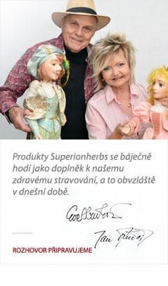Jan Přeučil o produktoch Superionherbs