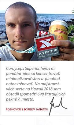 Boris Janata o produktoch Superionherbs