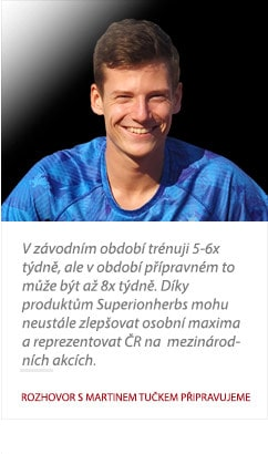 Martin Tuček o produktoch Superionherbs