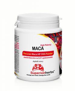 Doplnok stravy z Macy peruánskej - Peruvian Maca HP OSS Powder od Superionherbs