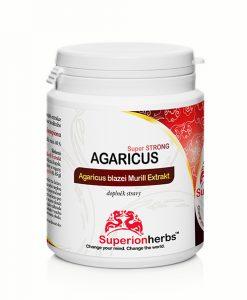 Doplnok stravy Agaricus blazei Murill Extrakt od Superionherbs