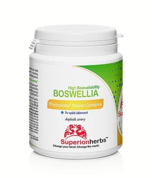 Doplnok stravy boswellia phytosome power complex od Superionherbs
