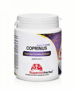 Doplnok stravy Coprinus Comatus Extrakt od Superionherbs