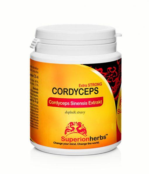 Doplnok stravy - extrakt Cordyceps od Superionherbs