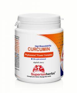 Doplnok stravy - Curcumin Phytosome od Superionherbs