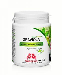 Doplnok stravy Graviola Annona muricata Extrakt od Superionherbs