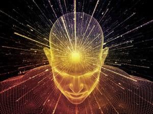 abstraktné stvárnenie mozgového myslenie
