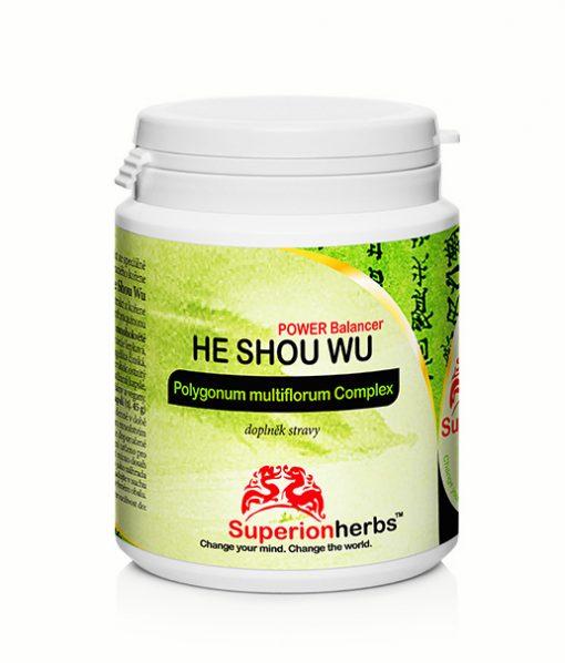 He Shou Wu doplnok stravy od Superionherbs