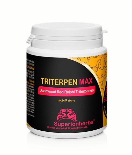 Doplnok stravy Triterpen max Duanwood Red reishi Triterpenes od Superionherbs