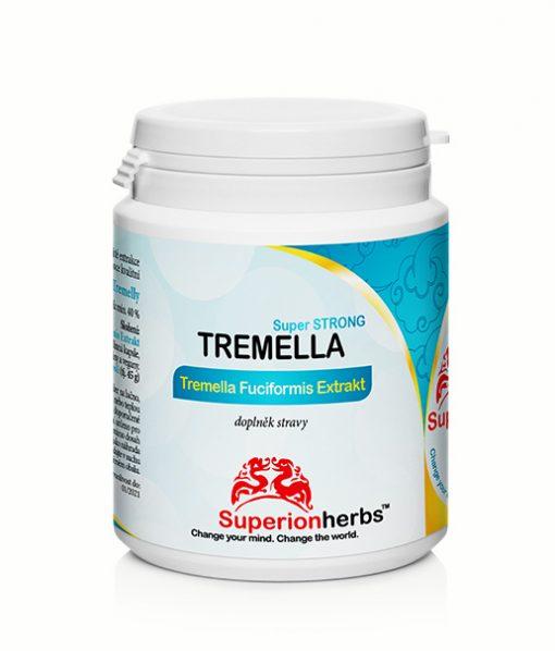 Doplnok stravy Tremella Fuciformis Extrakt z Rôsolovky riasotvaré od Superionherbs